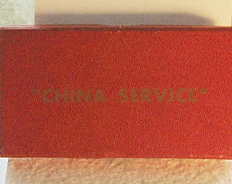 WWII Boxed U.S. Navy China Service Medal