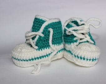 Woolen Baby's booties Crochet baby's booties