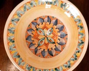 serving bowl fruit bowl centerpiece, ceramics, handmade, artistic