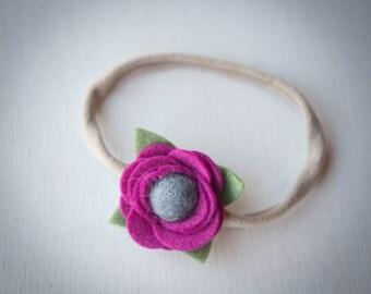 Fuchsia Headband