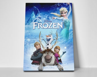 Frozen Poster Limited Edition 24x36 Movie Poster | Frozen Canvas