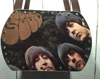 Beatles - Rubber Soul vinyl record purse