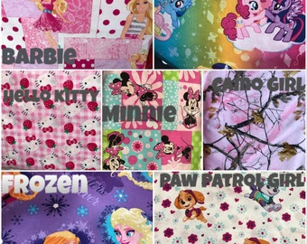 GIRLS Personalized Kindermat Covers