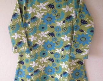 Long Sleeve Organic Cotton Girls' Dress