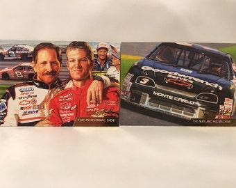 Vintage x2 Dale Earnhardt NASCAR Cards Artist Series #18 #56
