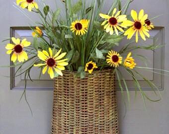 Wildflower Door Basket