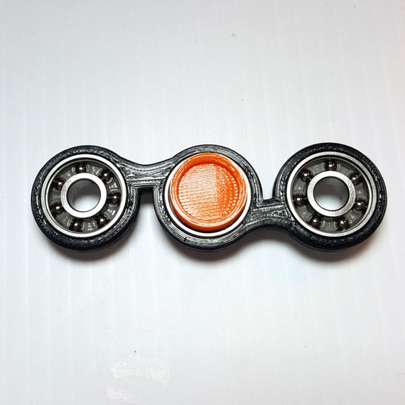 how to make a fidget spinner with 2 bearings