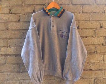 On Sale Vintage Crocodile Sweatshirt Collar
