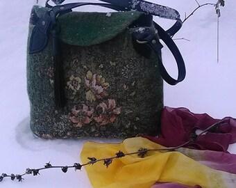 """Handbag """"winter fantasy"""""""