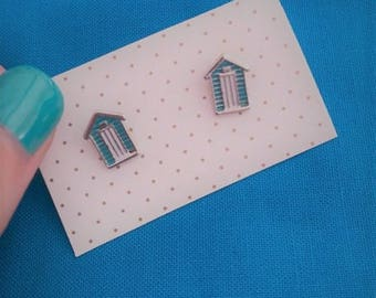 Beach House Stud Earrings- Summer