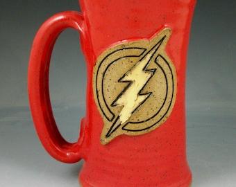 Wheel thrown pottery Flash Stein