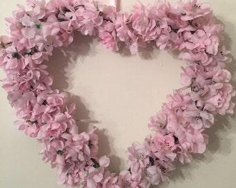 Blossom Heart Wreath