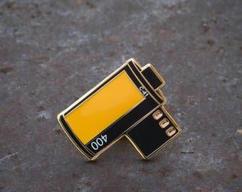 Film Roll Enamel Pin - KP400 Colour