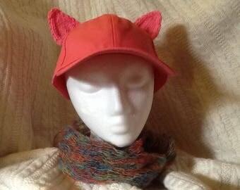 Pink pussycat hat