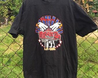 RARE levi's present medium black t shirt