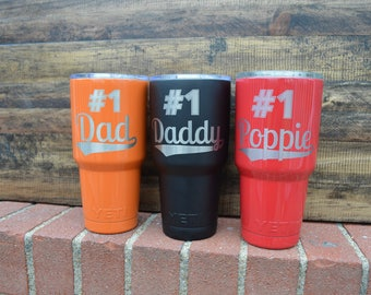 Father's Day Custom Yeti Cups