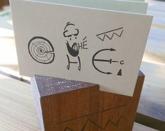 """Card holder """"Lumberjack"""""""