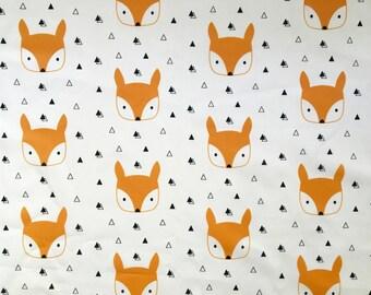 Fox playmat, quilt, fox blanket, fox baby blanket, baby blanket, nursery quilt