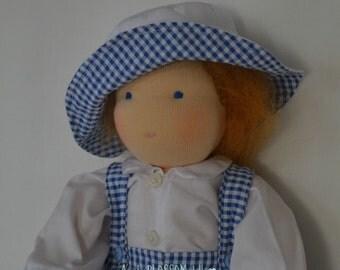 Waldorf Boy Doll. Waldorf Dolls. Traditional handmade doll in the Waldorf style.