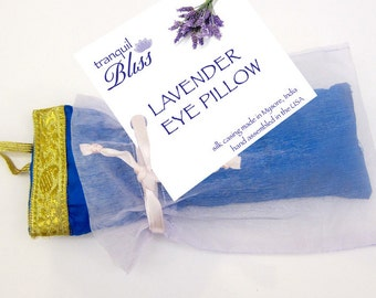 Tranquil Bliss Lavender Eye Pillows