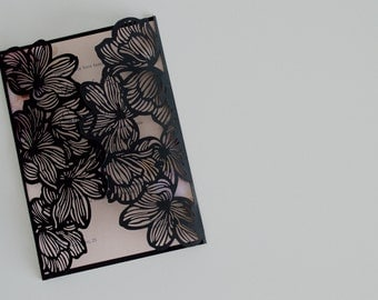 Participation In Black Velvet Flowers