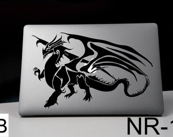 MacBook decal, Macbook vinyl decal, macbook sticker, anime decal, dragon , macbook air decal, macbook pro decal