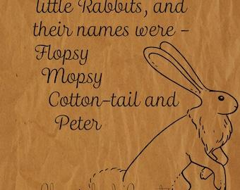 Peter Rabbit Print *INSTANT DOWNLOAD*