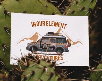 In Our Element Adventures- Rig Decal