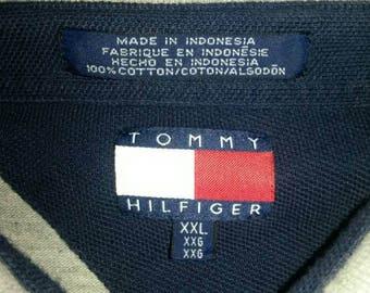 Tommy Hilfiger long sleeve polo XXL