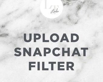 Upload Snapchat Filter