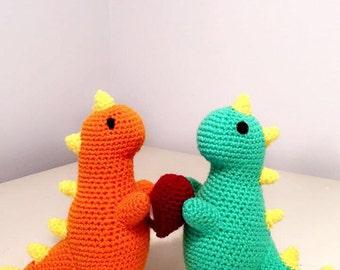 Dino Love Plush
