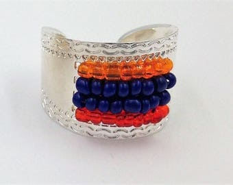 Silver ring and Pearl colors Armenia