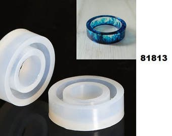 Round mould, mold, resin, acrylic, ring, finger ring