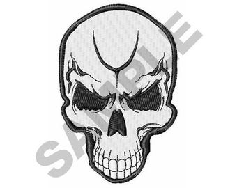 Skull - Machine Embroidery Design
