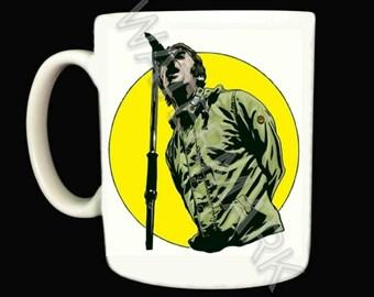 Oasis Mug .. Mugs . Liam . Noel Gallagher . Pretty Green cp company jacket coat adidas weekend offender lacoste stone island aquascutum
