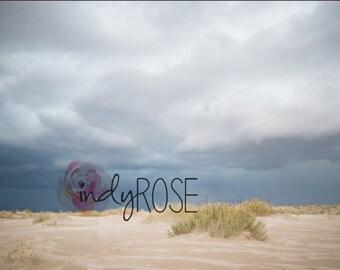 Desert Storm digital backdrop
