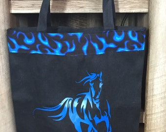 Tote with Running Horse