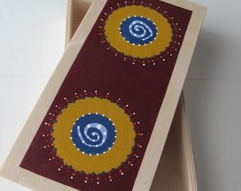 Russian poplar wood box