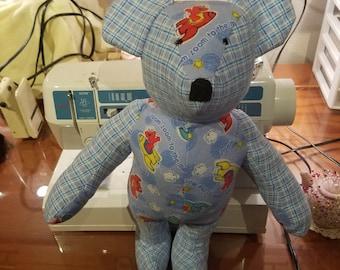 Newborn safe teddy bears