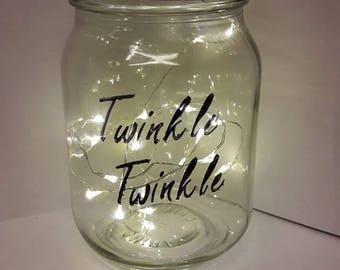 Twinkle Twinkle Mason Jar
