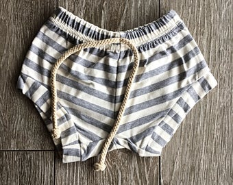 Striped shorts, baby shorts, toddler shorts, sweat shorts, summer clothing, baby  clothing