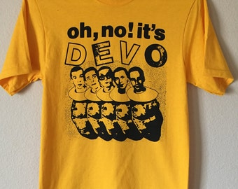 Oh no it's another devo shirt