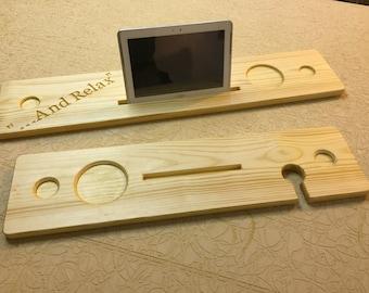 Bath board for iphone or ipad samsung