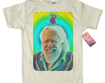 Professor X T shirt Artwork, Alexander Shulgin