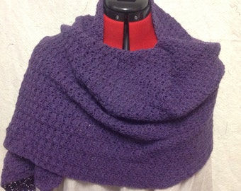 Deep Purple Shawl/Scarf
