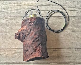 Hand Made Wooden Log Speaker