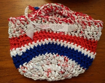 Red, White and Blue Bag