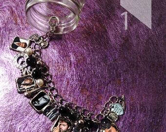 george michael  charm  Bracelet Necklace