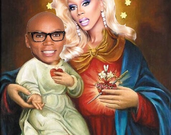 RuPaul Prayer Candle
