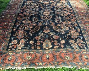 """8'4"""" x 11'2"""" Antique Persian Rug"""
